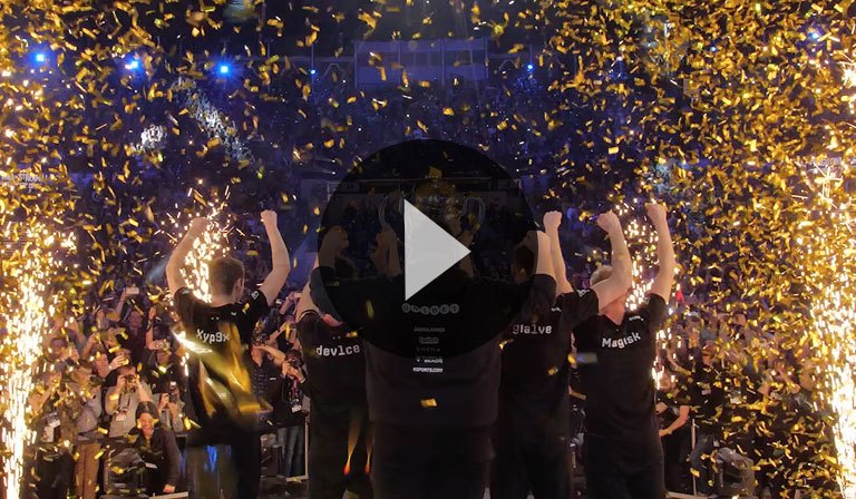 Intel Dreamstakes Winners at Katowice