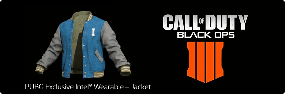 PUBG Exclusive Intel® Wearable – Jacket